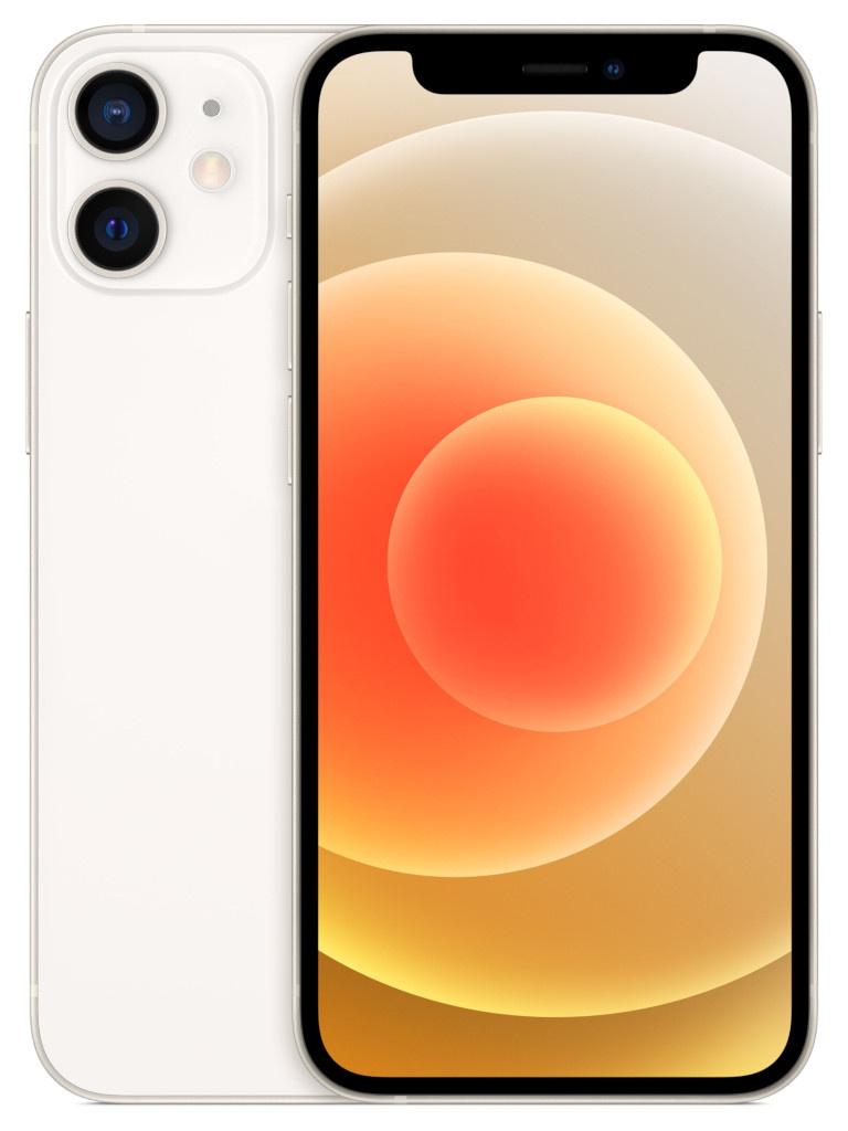 Фото - Сотовый телефон APPLE iPhone 12 Mini 64Gb White MGDY3RU/A телефон apple iphone 12 64gb green mgj93ru a