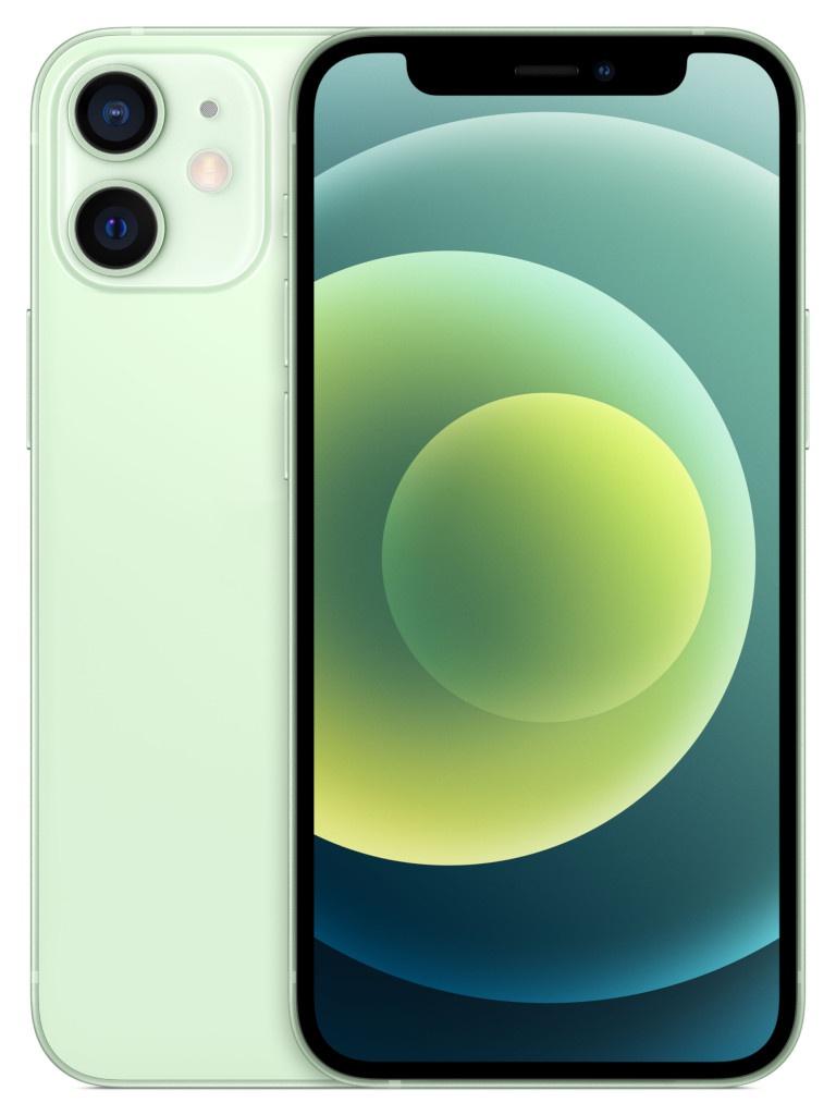 Фото - Сотовый телефон APPLE iPhone 12 Mini 64Gb Green MGE23RU/A телефон apple iphone 12 64gb green mgj93ru a