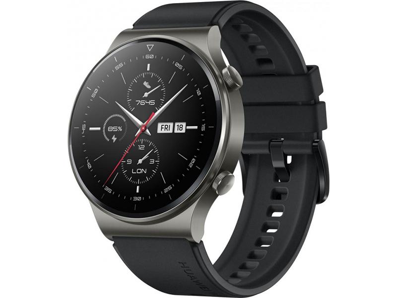 Умные часы Huawei GT 2 Pro 46mm Vidar-B19S Night Black 55025736 умные часы huawei watch gt ftn b19 black