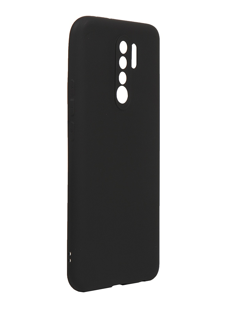 Чехол Neypo для Xiaomi Redmi 9 Silicone Soft Matte Black NST17850