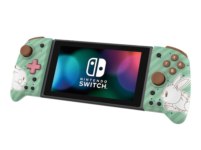 Контроллер Hori Switch Split Pad Pro Pikachu Eeve NSW-296U для Nintendo