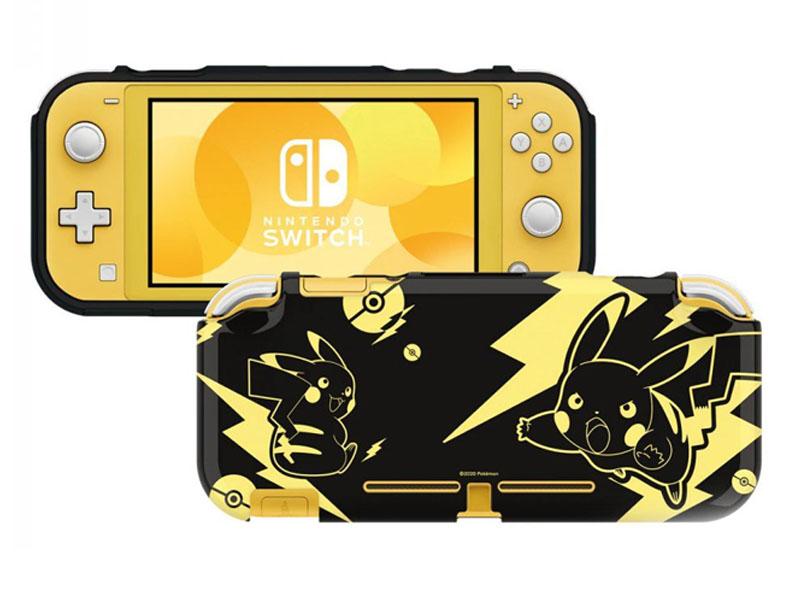 Чехол Hori Pikachu Black-Gold NS2-076U для Nintendo Switch