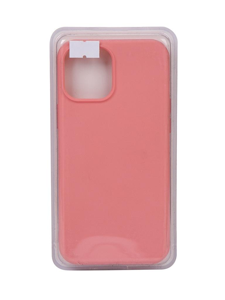 Чехол Innovation для APPLE iPhone 12 Pro Max Silicone Soft Inside Pink 18037 недорого
