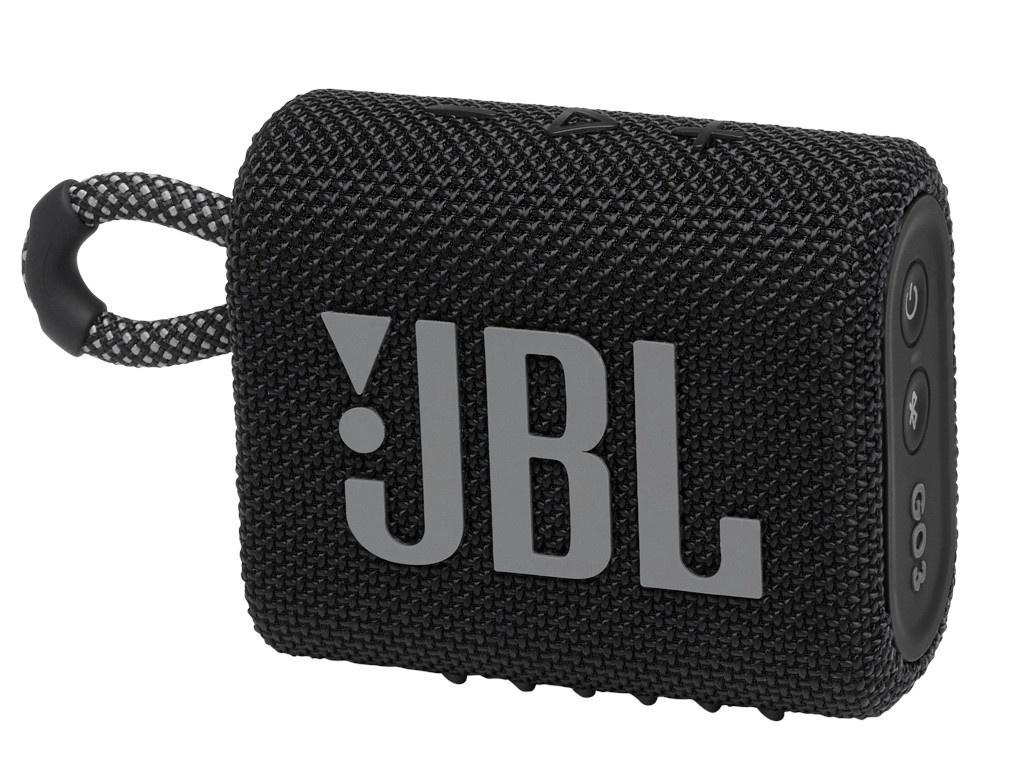 Колонка JBL Go 3 Black колонка jbl go 2 coral orange
