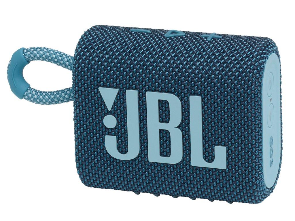 Колонка JBL Go 3 Blue колонка jbl go 2 coral orange
