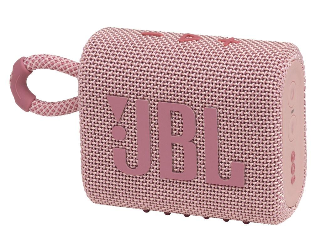 Колонка JBL Go 3 Pink колонка jbl jr pop pink