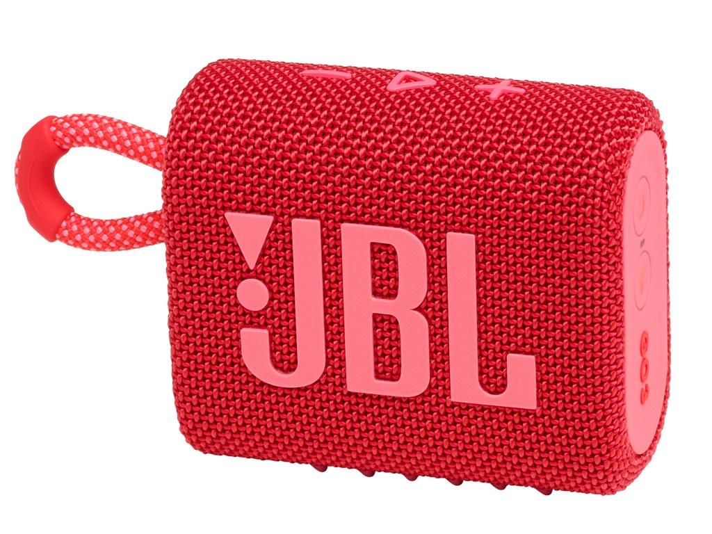 Колонка JBL Go 3 Red колонка jbl go 2 coral orange