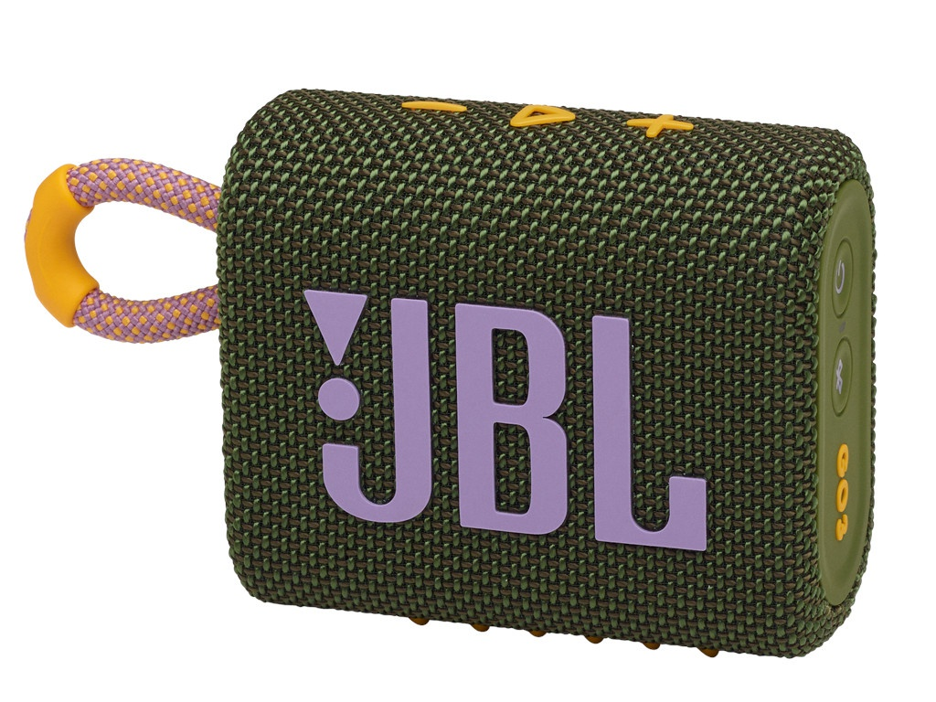 Колонка JBL Go 3 Green колонка jbl go 2 coral orange