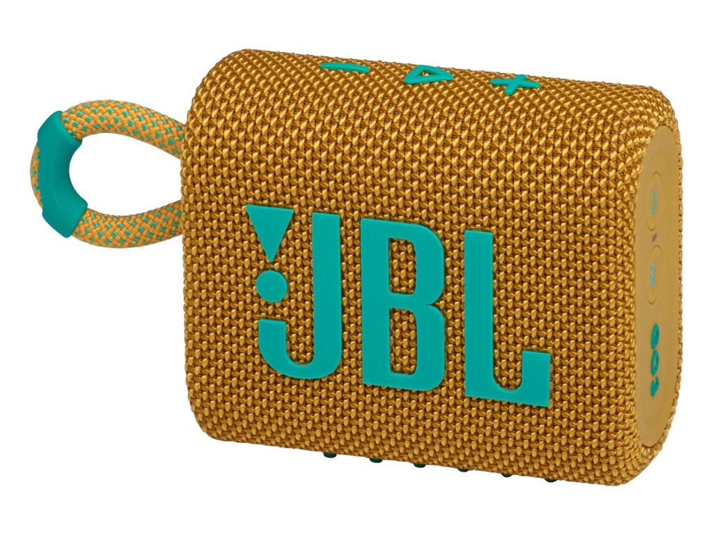 Колонка JBL Go 3 Yellow колонка jbl go 2 coral orange