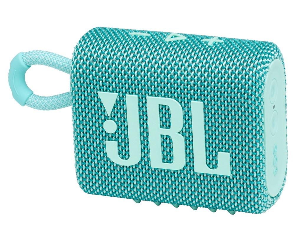 Колонка JBL Go 3 Teal колонка jbl go 2 coral orange