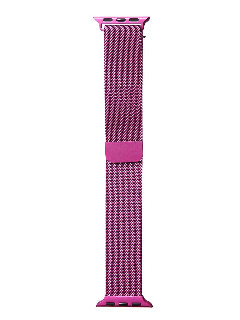 Аксессуар Ремешок Bruno для APPLE Watch 38/40mm Milano Purple b20524 аксессуар ремешок bruno для apple watch 38 40mm milano black red b20527