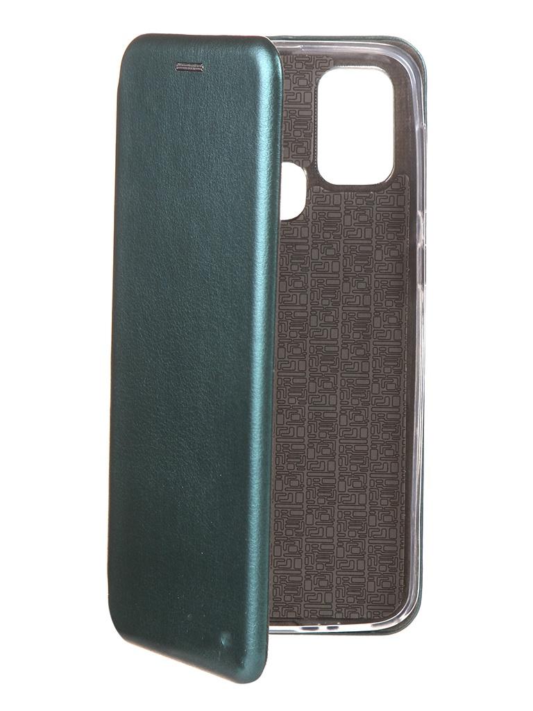 Чехол Neypo для Samsung M31 (2020) Premium Dark Green NSB18005