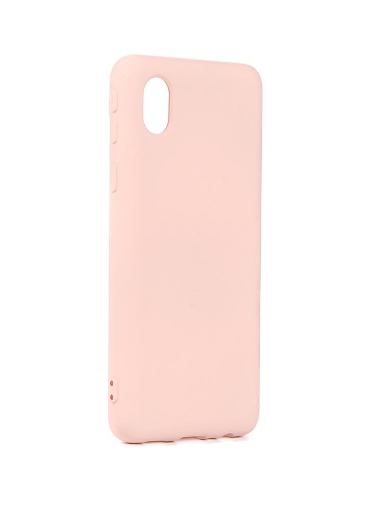 Чехол Neypo для Samsung A01 Core (2020) Silicone Rose Quartz NSC18681