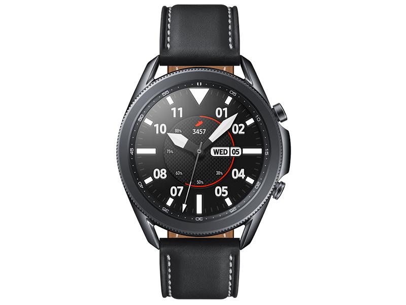 Умные часы Samsung Galaxy Watch 3 45mm Black SM-R840NZKACIS Выгодный набор + серт. 200Р!!! умные часы huawei watch gt 2e hector b19c 46mm black mint 55025294 выгодный набор серт 200р