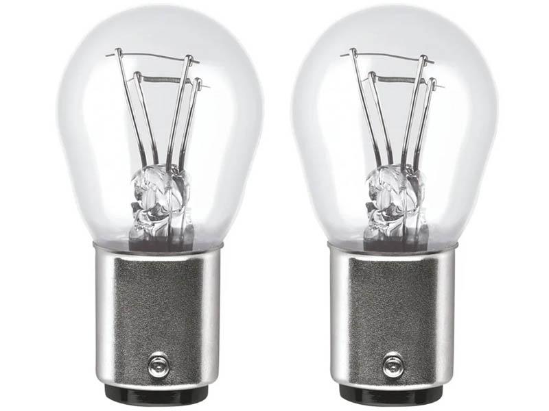 Лампа Osram P21/5W 12V-21/5W (BAY15d) Ultra Life 2шт 7528ULT-02B