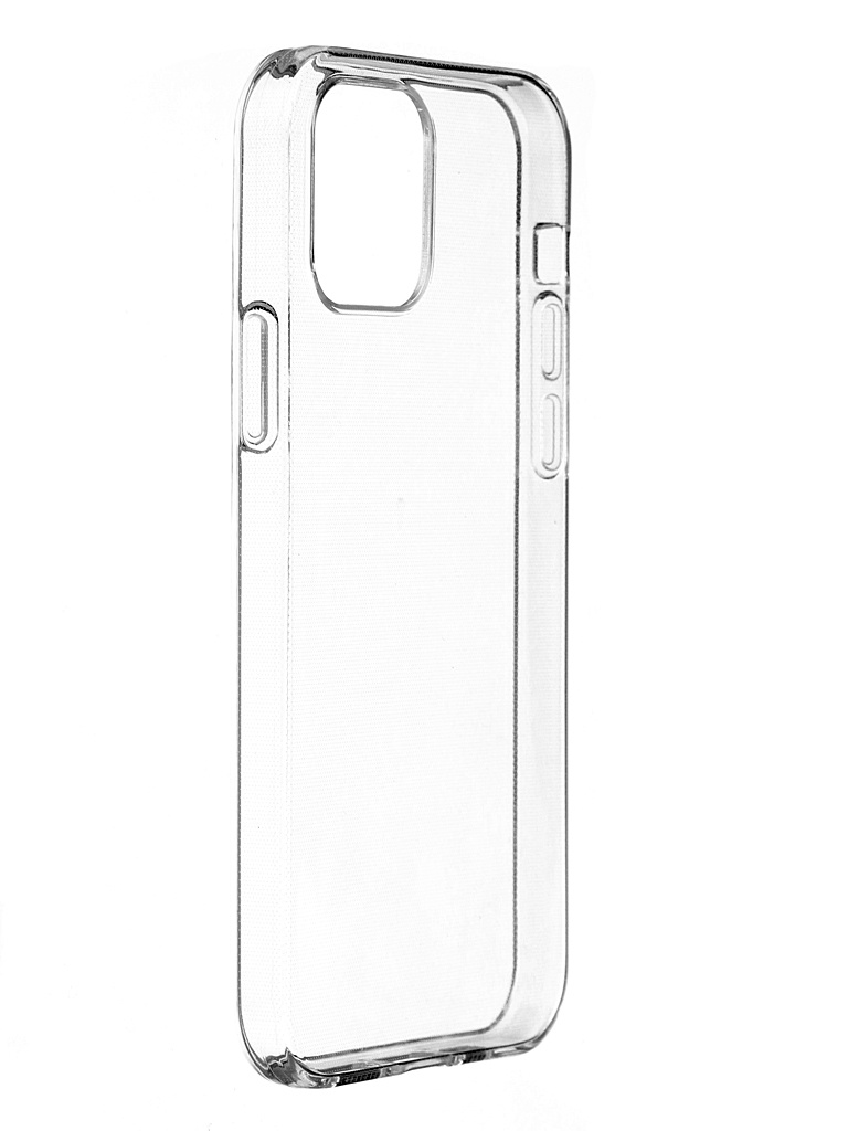 Чехол Brosco для APPLE iPhone 12 / Pro TPU Transparent IP12(12PRO)-TPU-TRANSPARENT