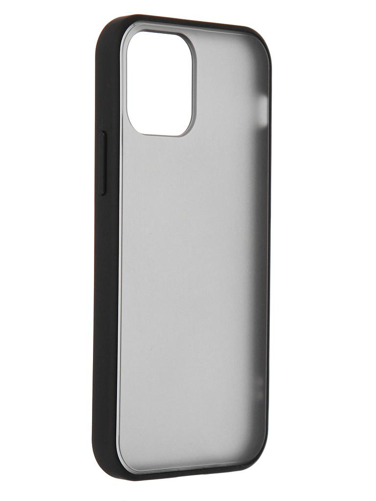 Чехол Brosco для APPLE iPhone 12 / Pro Black IP12(12PRO)-ST-TPU-BLACK