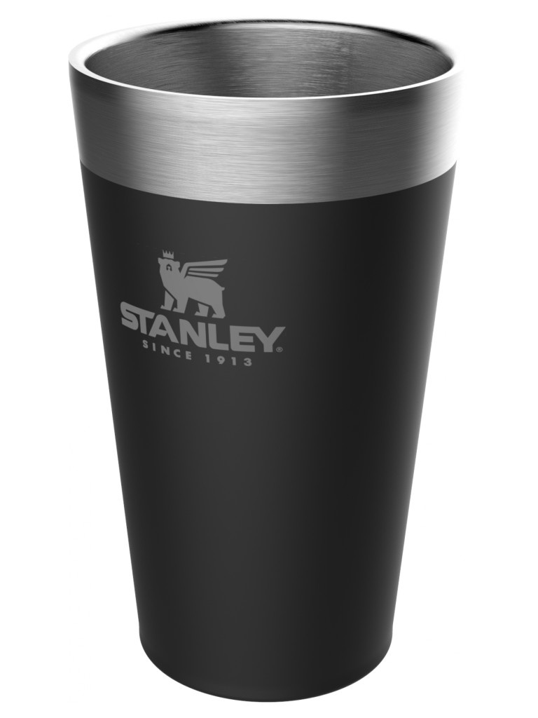 Термокружка Stanley Adventure Stacking Vacuum Pint 470ml Black 10-02282-058