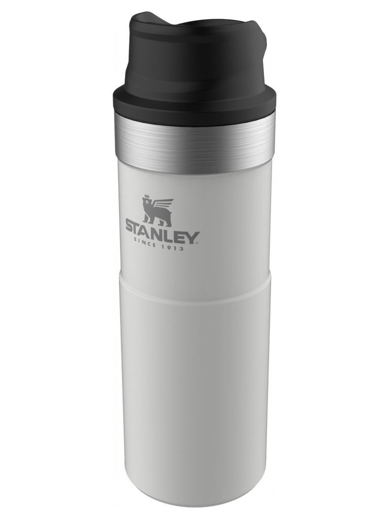 Термокружка Stanley The Trigger-Action Travel Mug 470ml White 10-06439-032 stanley the trigger action travel mug черный