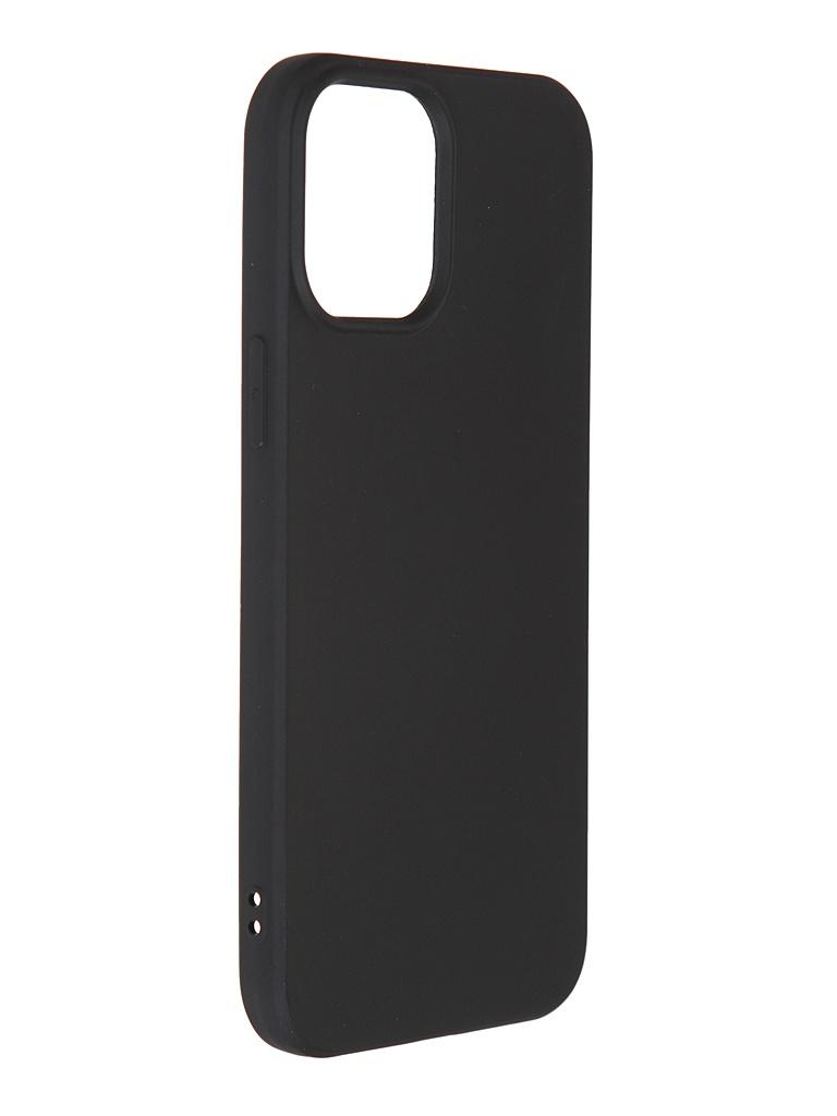 Чехол Liberty Project для APPLE iPhone 12 Pro Max TPU Silicone Black 0L-MG-WF274