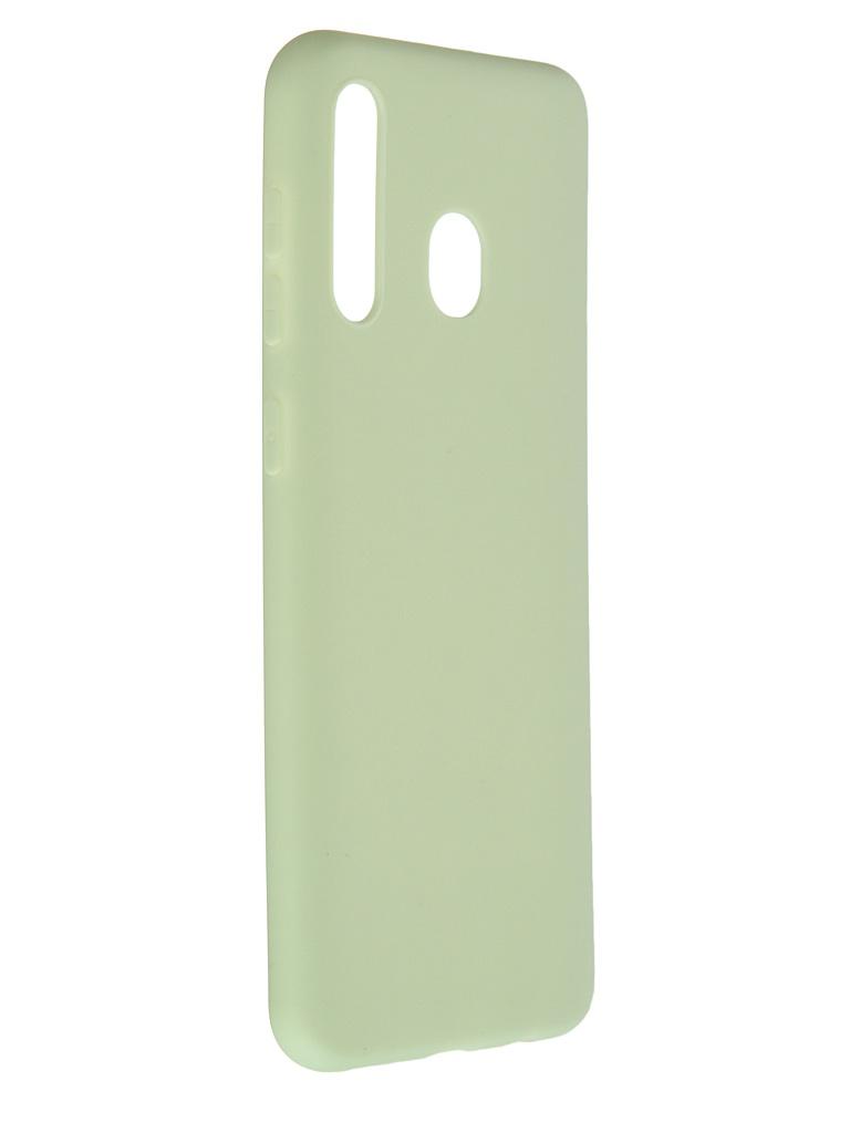 Чехол Pero для Samsung Galaxy M20 / A20 Soft Touch Mint СС01-M20GRN