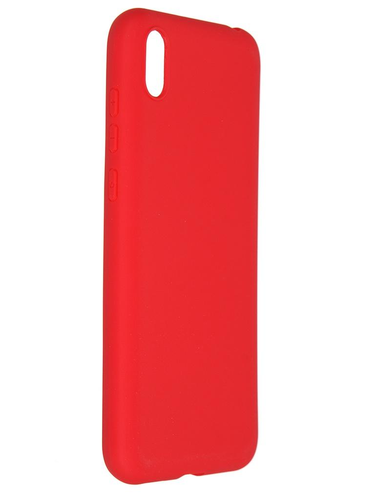 Чехол Pero для Honor 8S Soft Touch Red CC01-H8SR