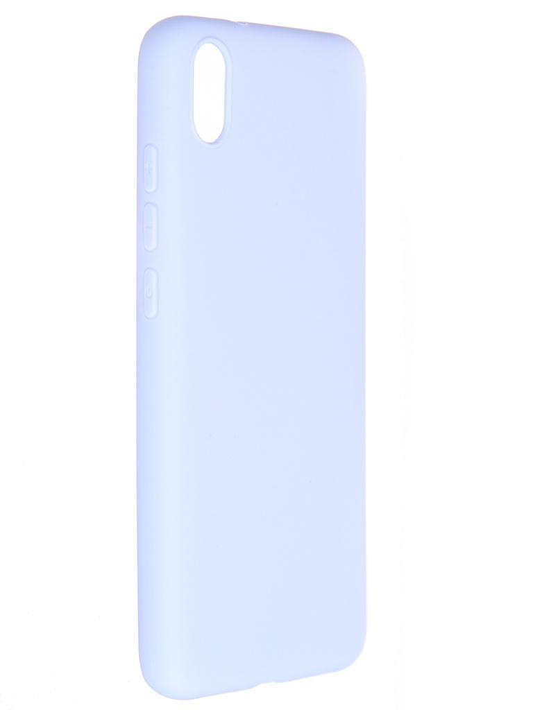Чехол Pero для Xiaomi Redmi 7A Soft Touch Light Blue CC01-R7AOB