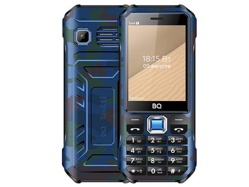 Сотовый телефон BQ 2824 Tank T Camouflage Blue