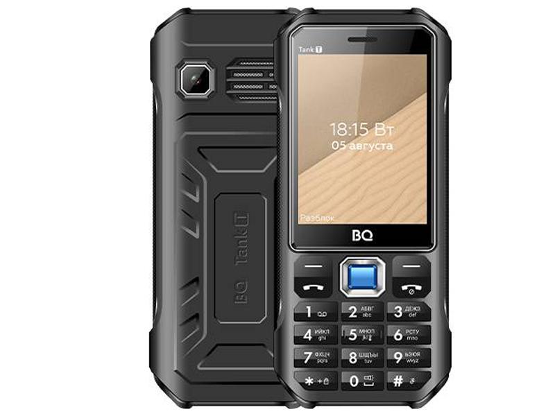 Сотовый телефон BQ 2824 Tank T Black телефон bq 2824 tank t черный