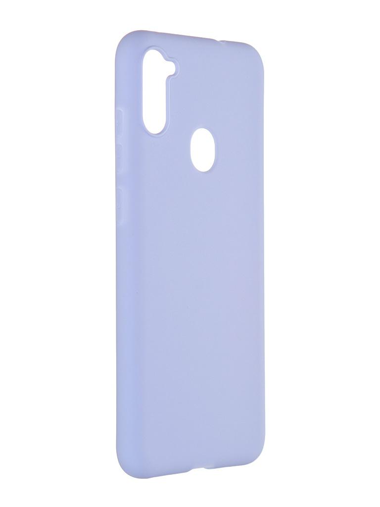 Чехол Pero для Samsung Galaxy A11 / M11 Soft Touch Light Blue CC01-A11OB