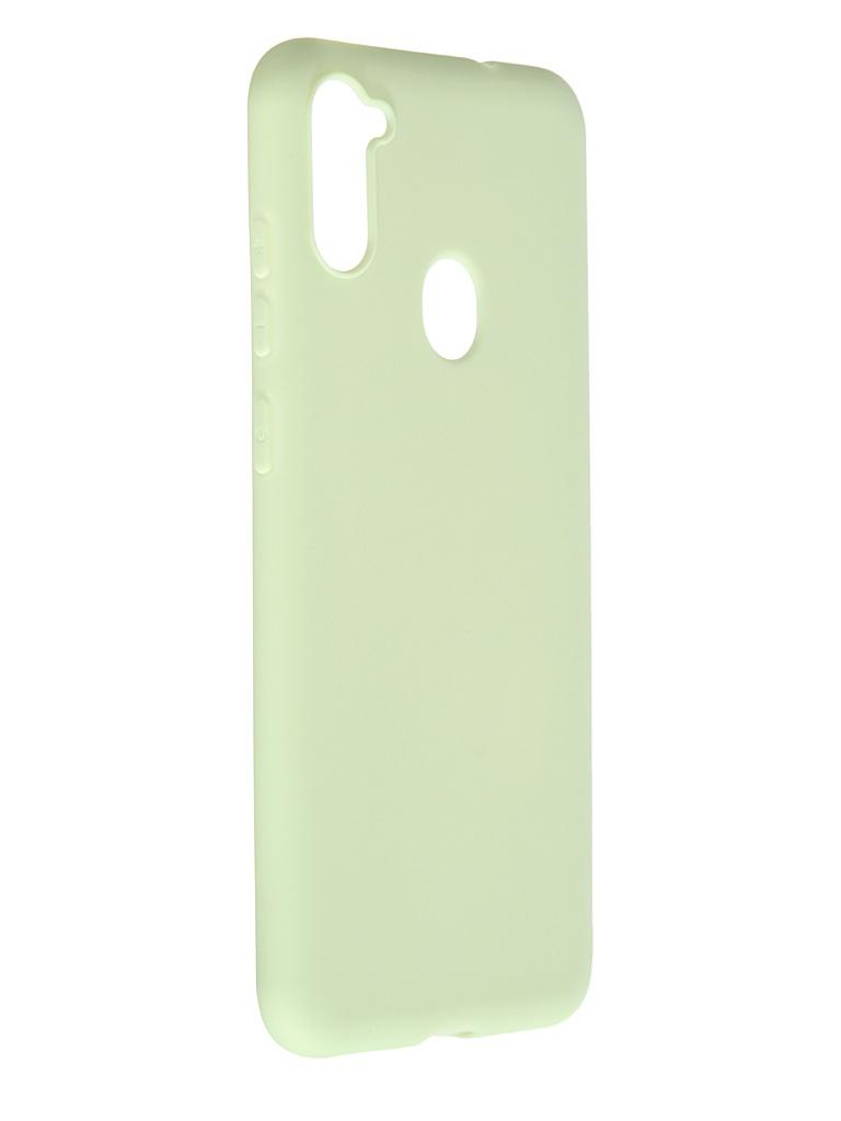 Чехол Pero для Samsung Galaxy A11 / M11 Soft Touch Mint CC01-A11GRN