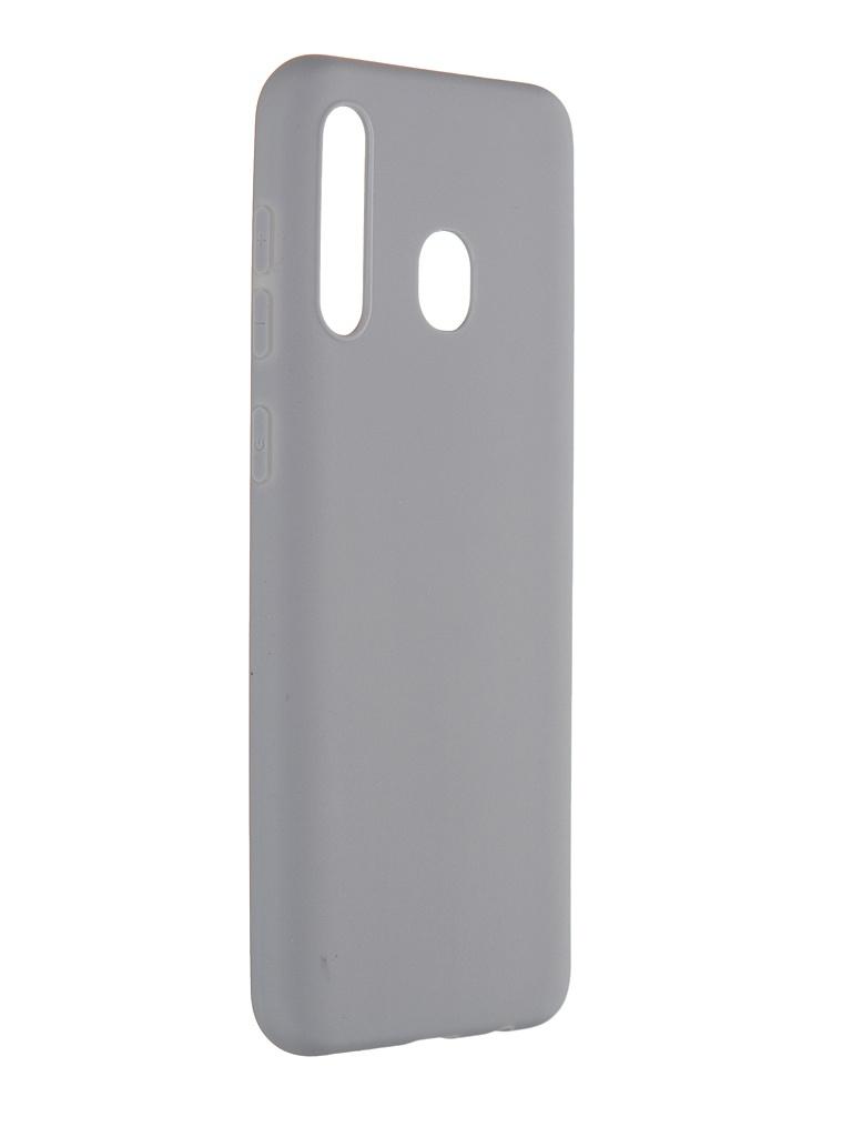 Чехол Pero для Samsung Galaxy A20 Soft Touch Grey CC01-A20GR