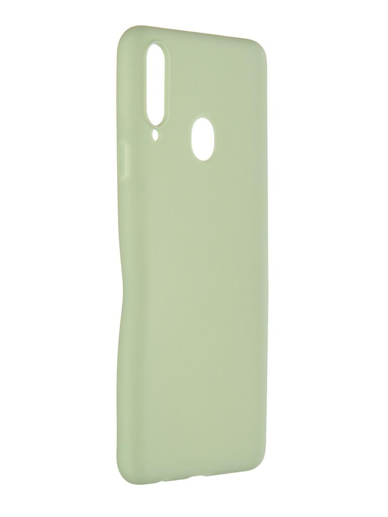 Чехол Pero для Samsung Galaxy A20S Soft Touch Mint CC01-A20SGRN