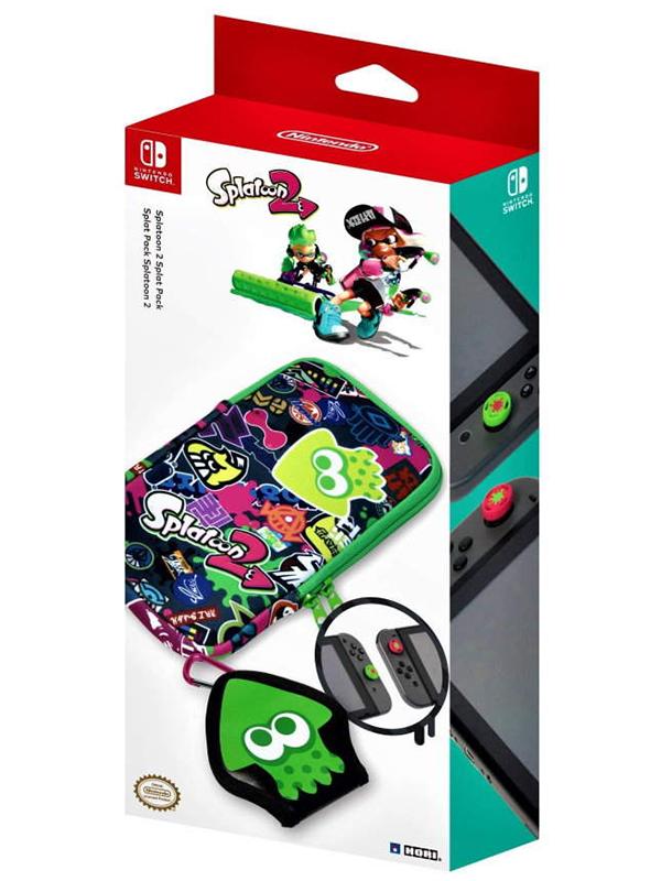 Набор аксессуаров Hori Splatoon 2 Splat Pack NSW-048U для Nintendo Switch