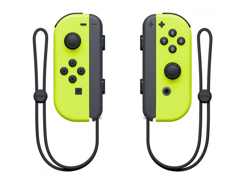 Контроллер Nintendo Joy-Con Neon Yellow ACSWT8