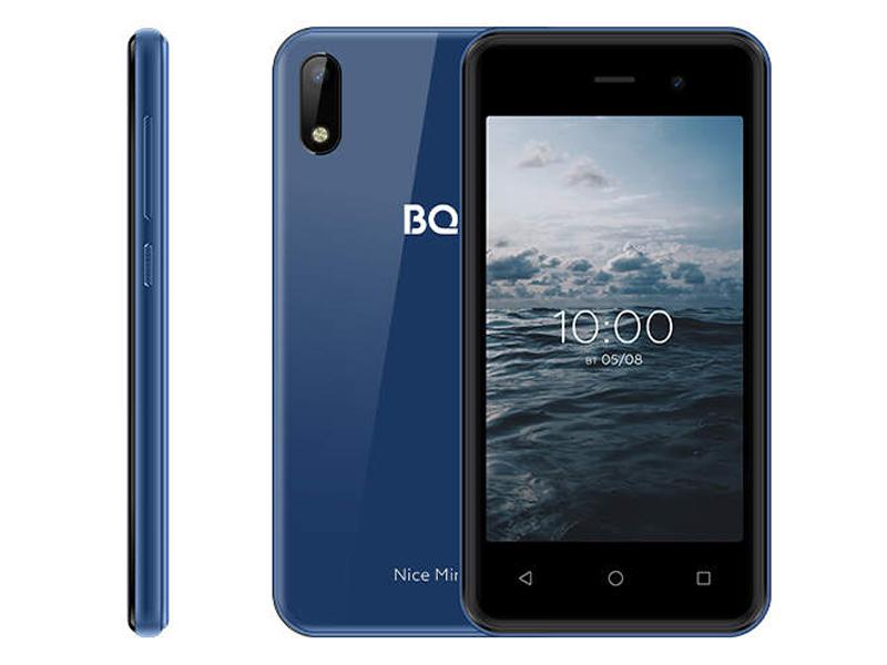 Сотовый телефон BQ 4030G Nice Mini Blue
