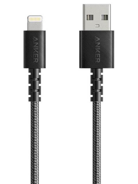 Аксессуар Anker PowerLine Select+ USB-A - Lightning 90cm Black A8012H11