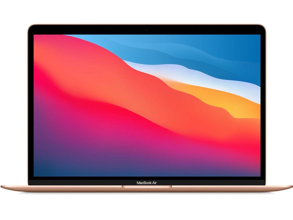 Ноутбук APPLE MacBook Air 13 (2020) Gold MGNE3RU/A (Apple M1/8192Mb/512Gb SSD/Wi-Fi/Bluetooth/Cam/13.3/2560x1600/Mac OS)