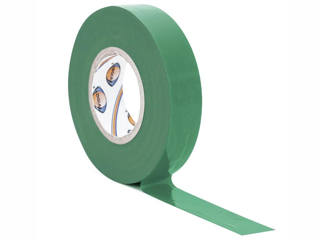 Изолента Aviora 15mm x 20m Green 305-062