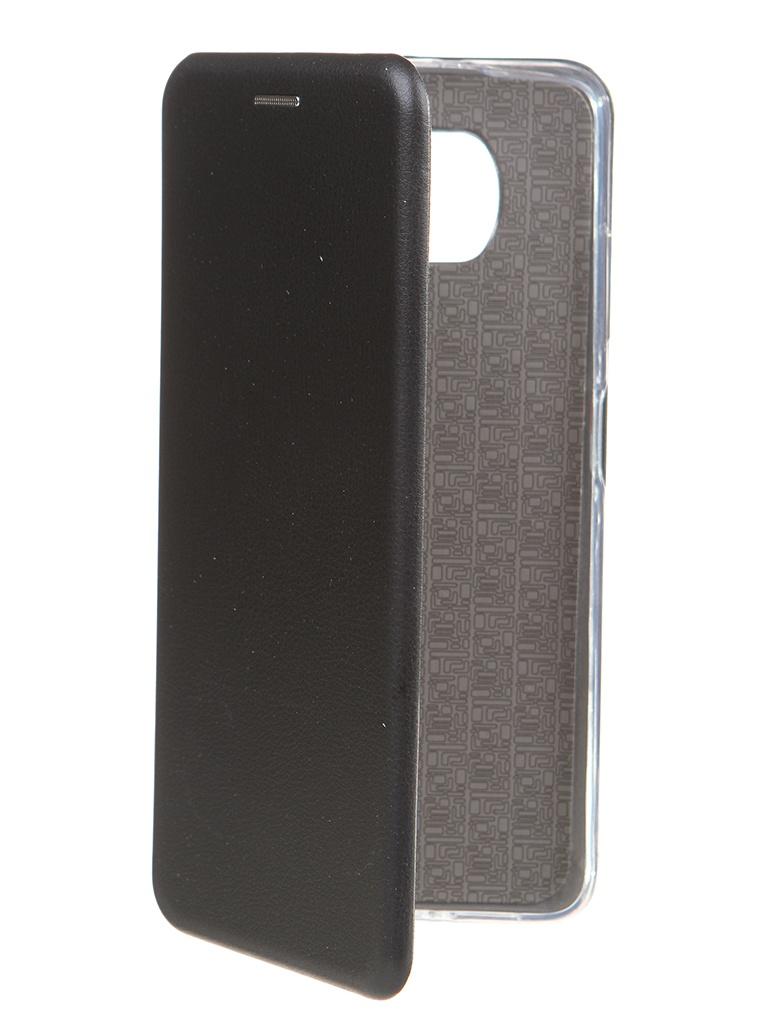 Чехол Zibelino для Poco X3 Book Black ZB-XIA-X3-BLK