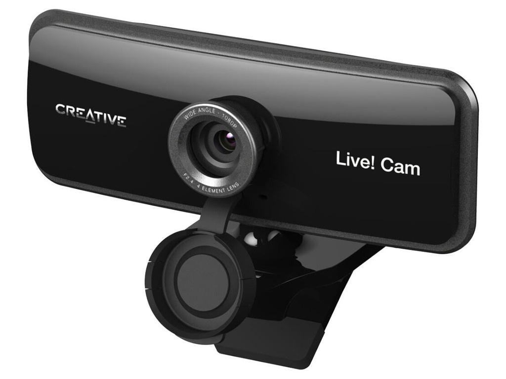 Вебкамера Creative Live! Cam Sync 1080P 73VF086000000 Выгодный набор + серт. 200Р!!!