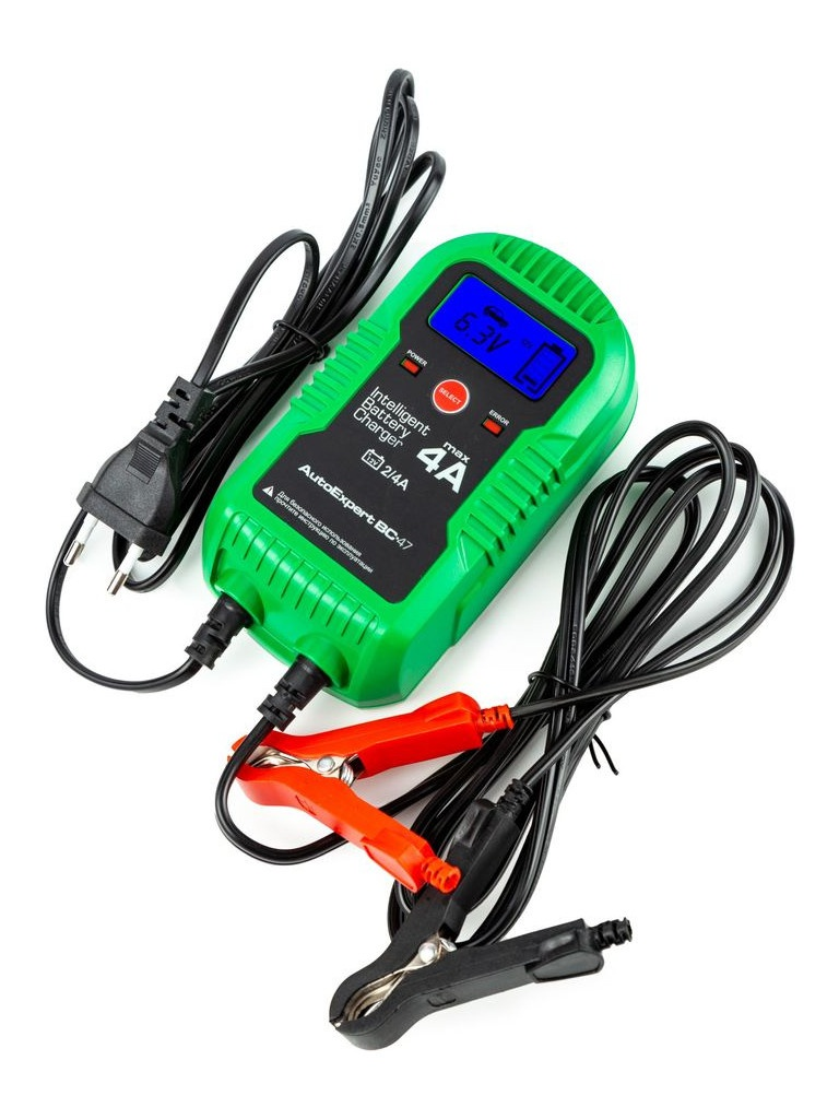 Фото - Зарядное устройство AutoExpert BC-47 зарядное устройство autoexpert bc 65