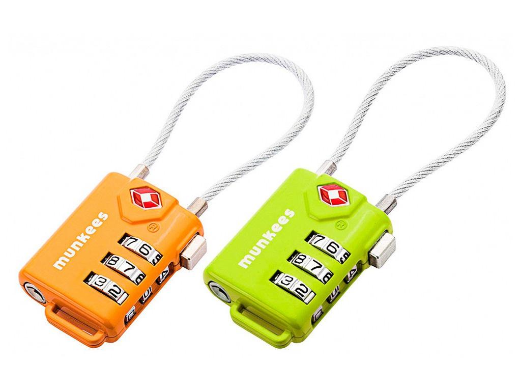 Брелок Munkees Cable Combination Lock 100x33x14mm 3609/1144136