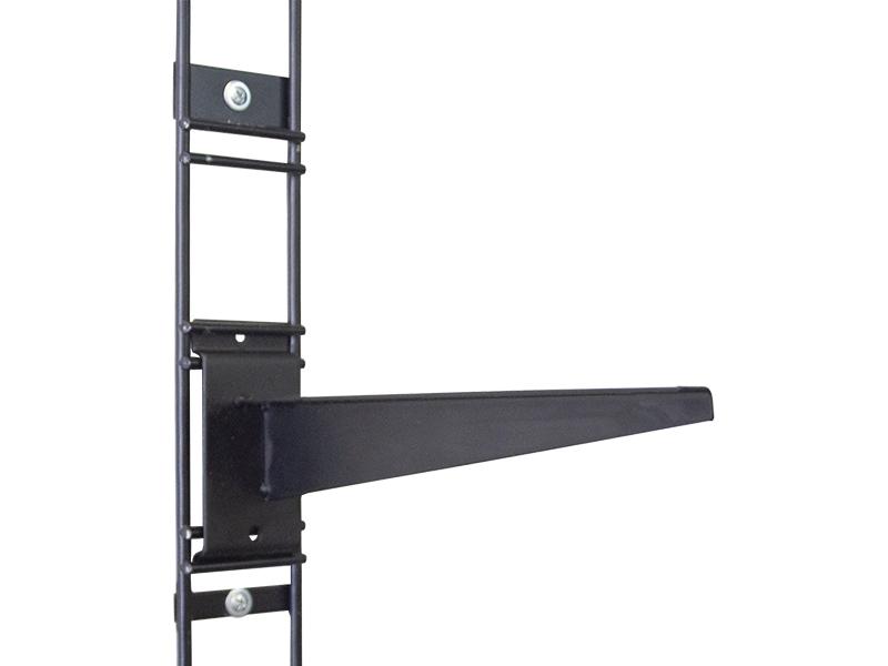 Кронштейн для полок ESSE 200-300mm Black K1-05
