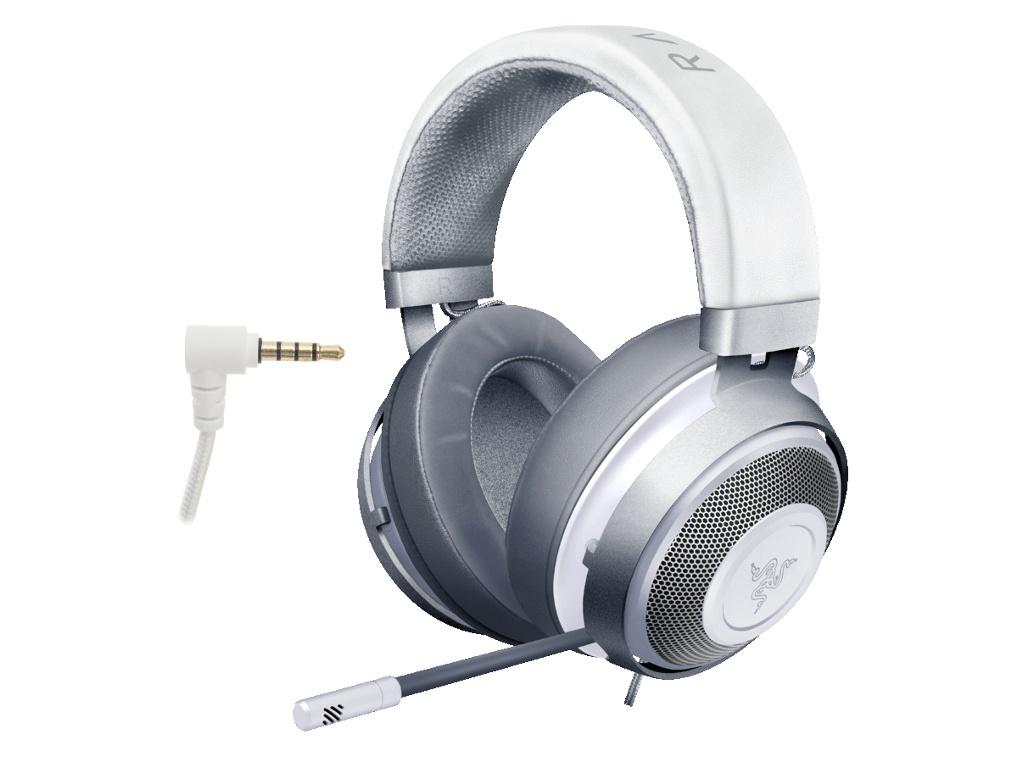 Наушники Razer Kraken Multi-Platform Wired Gaming Headset Mercury RZ04-02830400-R3M1
