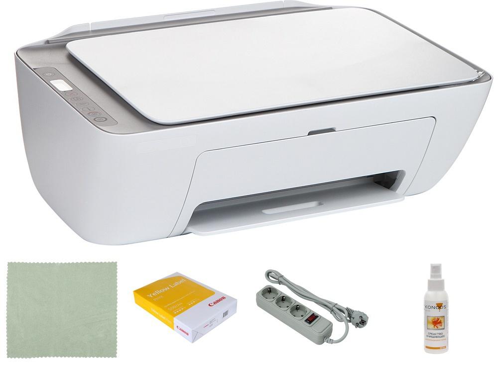 Фото - МФУ HP DeskJet 2720 3XV18B Выгодный набор + серт. 200Р!!! мфу hp deskjet 2720 белый