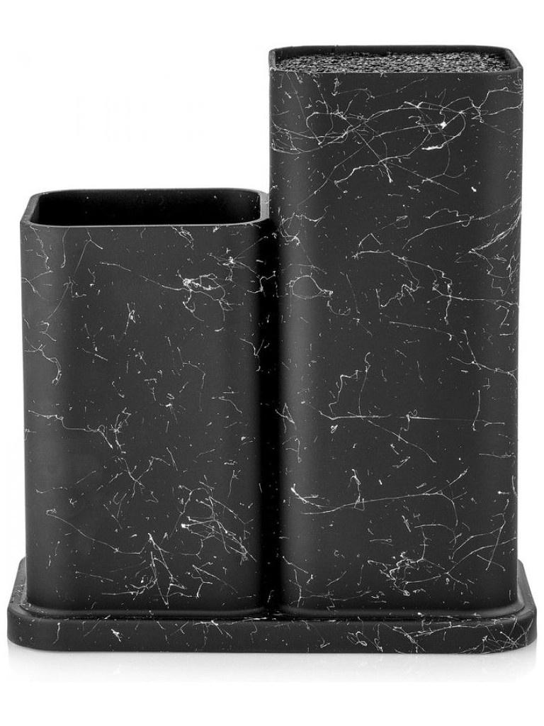 Подставка для ножей и столовых приборов Walmer Nordic Black W30027024