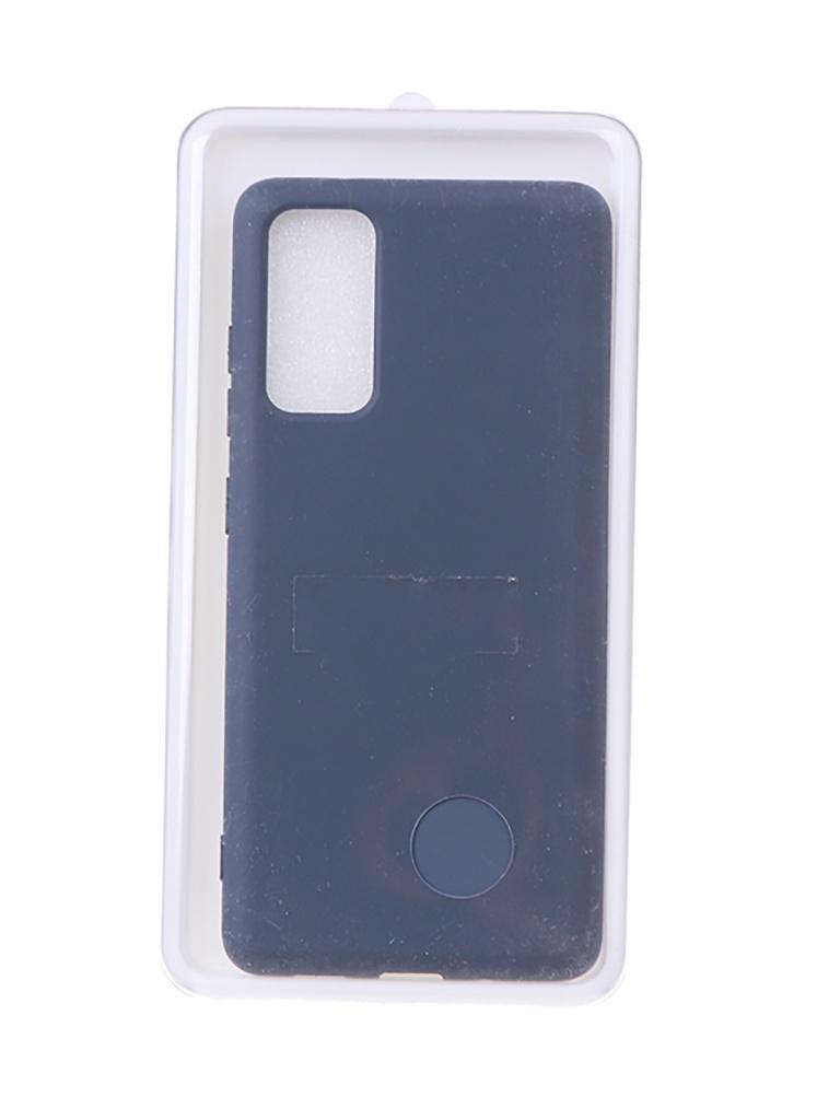 Чехол Innovation для Samsung Galaxy S20 FE Soft Inside Blue 18957 чехол innovation для samsung galaxy m31s soft inside blue 18952