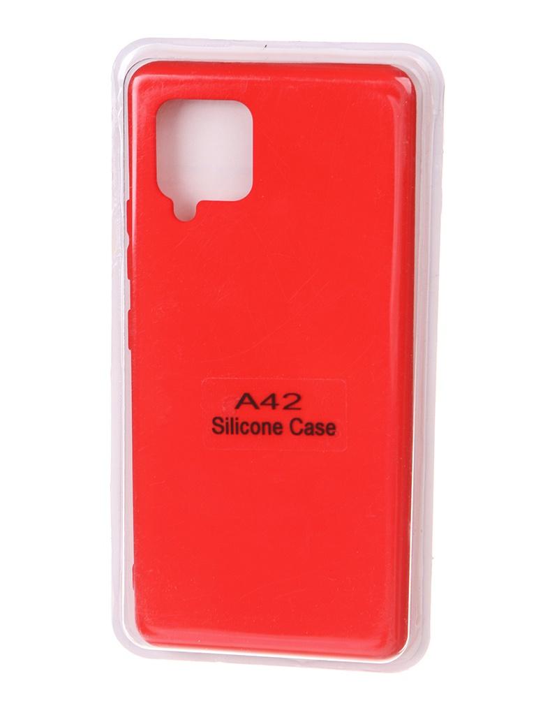 Чехол Innovation для Samsung Galaxy A42 Soft Inside Red 18967
