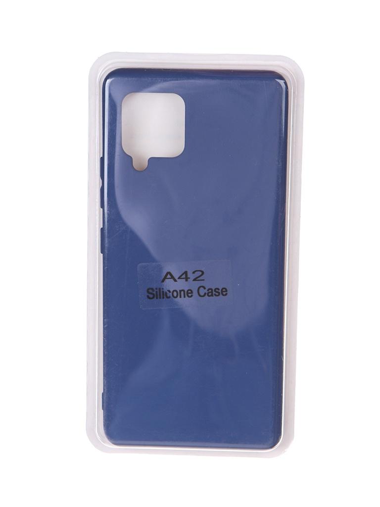 Чехол Innovation для Samsung Galaxy A42 Soft Inside Blue 18968 чехол innovation для samsung galaxy m31s soft inside blue 18952